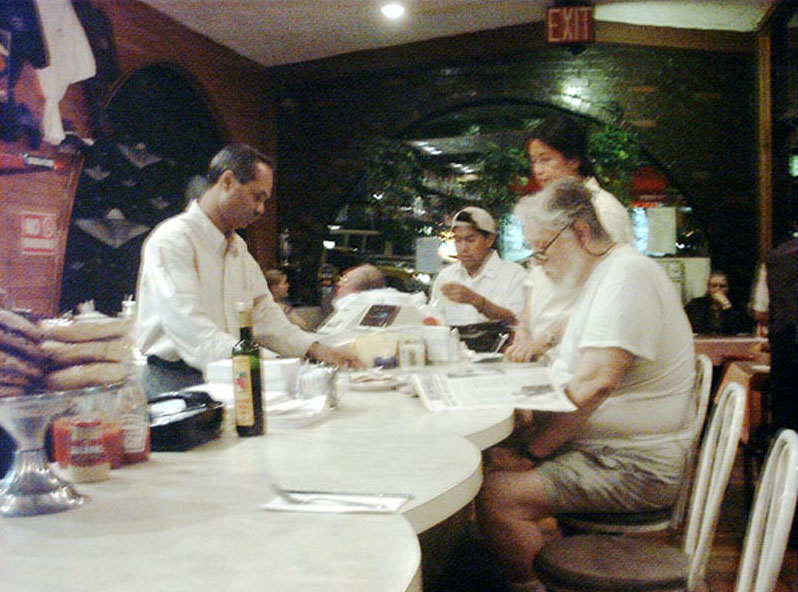 dinner out on September 11, 2001
