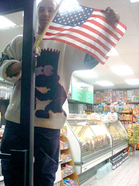 showing the colors in a 9th Avenue deli