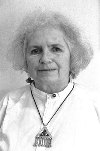 photographic portrait of Grace Paley, writer