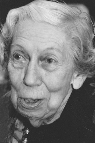 photograph of Eudora Welty, writer